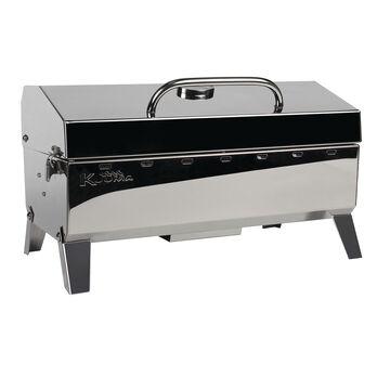 Kuuma Stow N' Go 160 Gas Grill - 13,000BTU w/Regulator, Thermometer