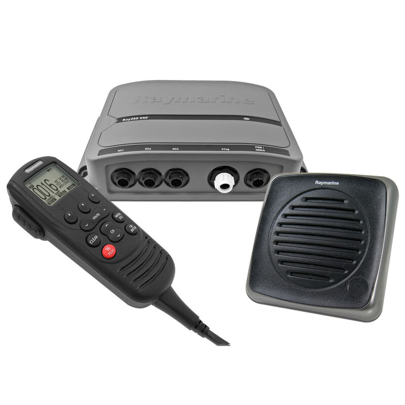 Raymarine Ray260 VHF Radio with Integrated AIS Receiver image number 1