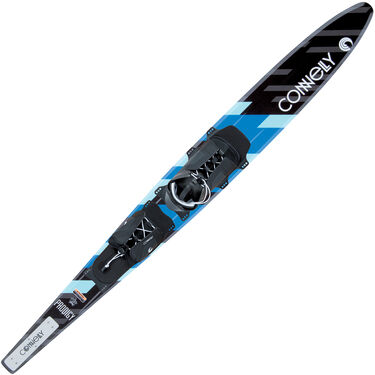 Connelly Prodigy Waterskis With Swerve Binding And Rear Toe Plate