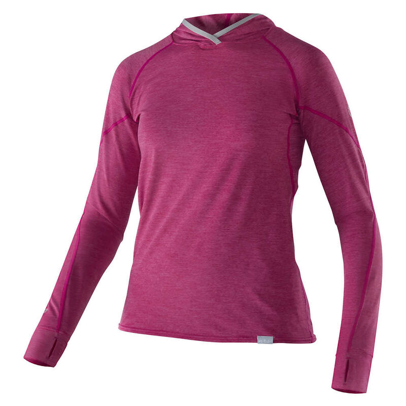 NRS Women's H2Core Silkweight Hoodie image number 2