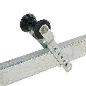 """Adjustable Keel Roller Bracket Assembly for 2"""" Tongue"""