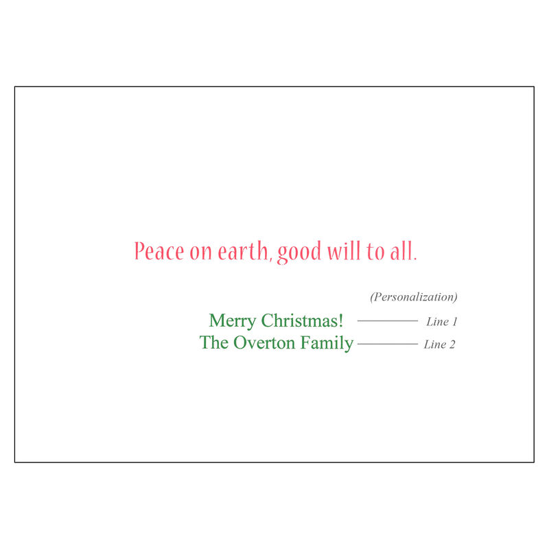 Personalized Pontoon Christmas Cards image number 2