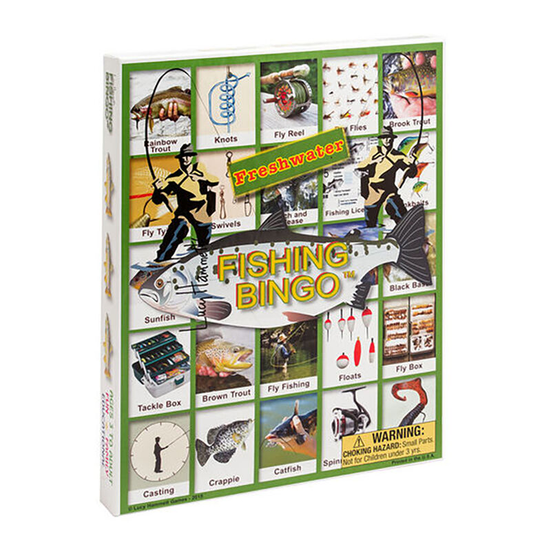 Channel Craft Fishing Bingo Game image number 1