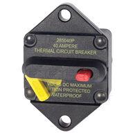 Blue Sea Systems 285 Series Circuit Breaker, Panel Mount, 40 Amp