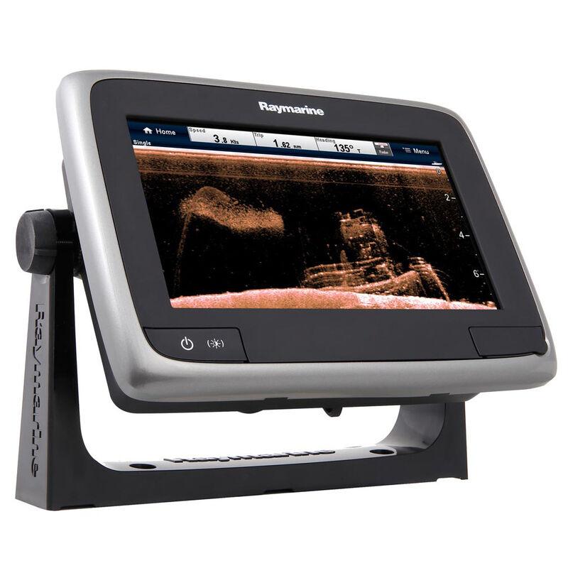 "Raymarine a78 Wi-Fi 7"" Multifunction Display - Navionics North America Gold image number 1"