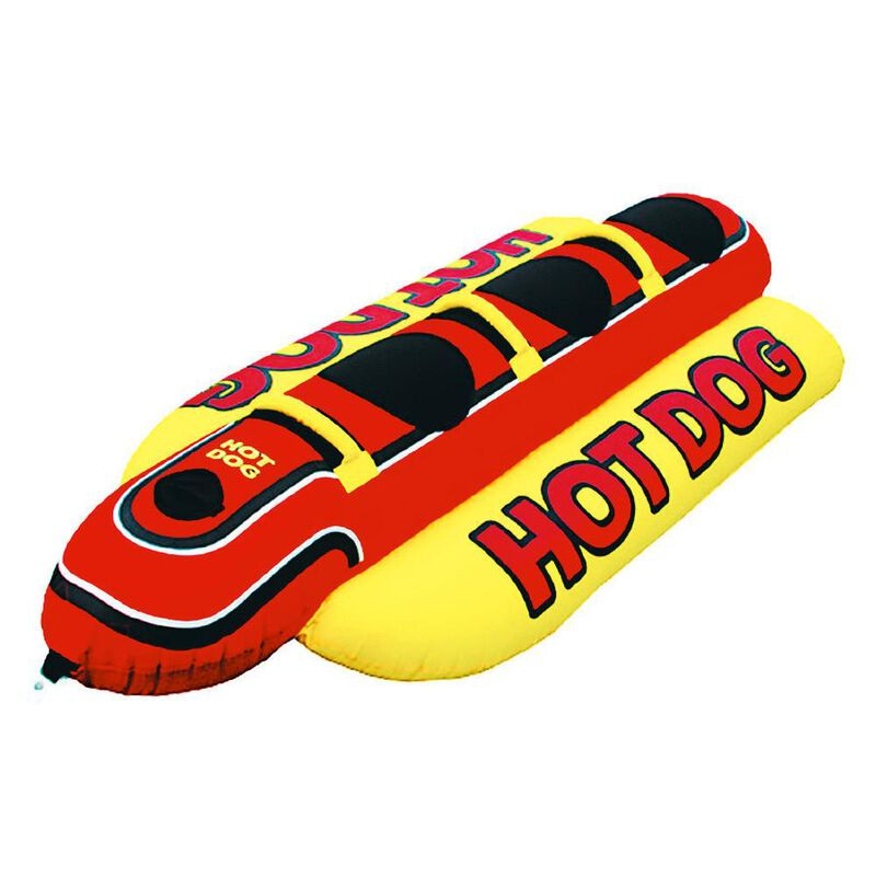 Airhead Hot Dog 3-Person Towable Tube image number 1