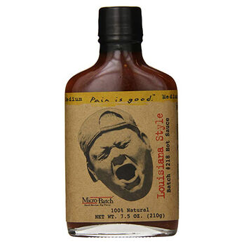 Original Juan Batch #218 Louisiana Style Hot Sauce 7.5oz