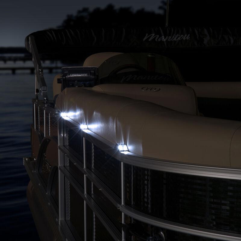 Dockmate Starlite Solar Guide Light For Pontoon Rails image number 2