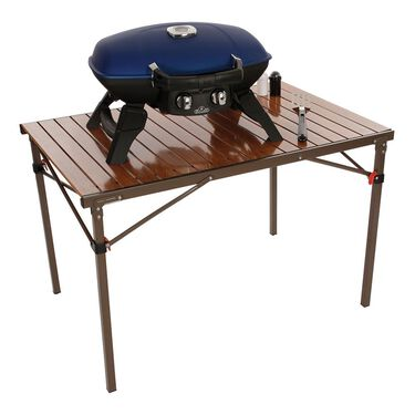 Wood-look Cooking Table