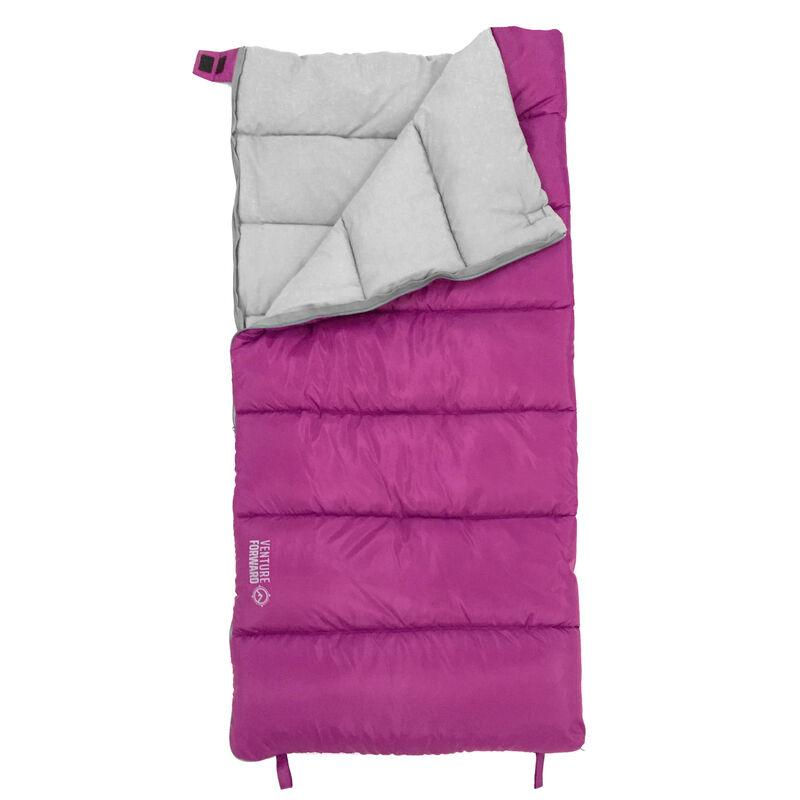 Venture Forward Youth Backyard 50° Rectangle Sleeping Bag image number 4