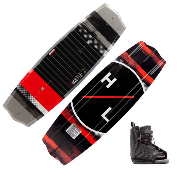 Hyperlite State 2.0 125 Wakeboard With Kid's Remix Bindings