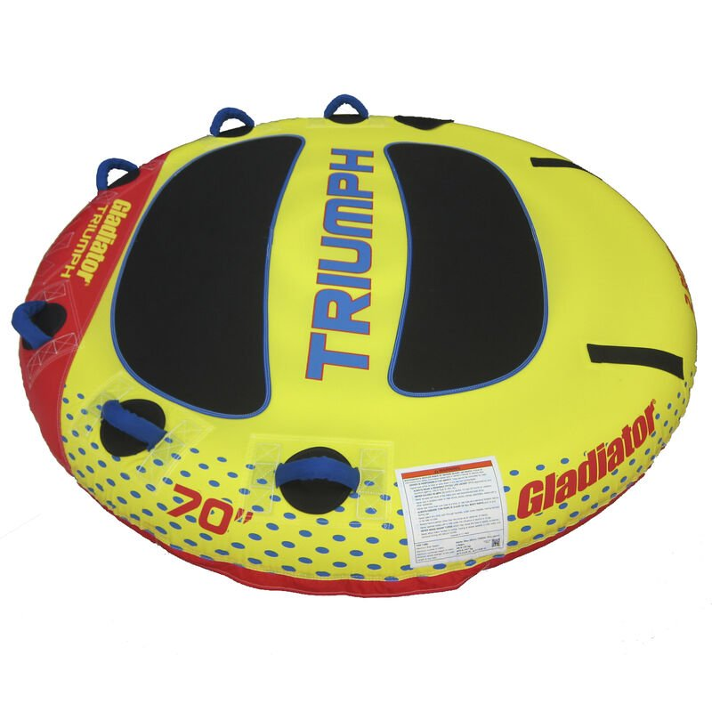 Gladiator Triumph 2-Person Towable Tube image number 6