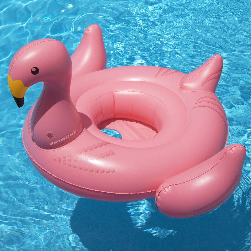 Swimline Flamingo Baby Seat Float image number 4