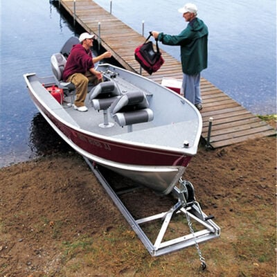 Roll-n-Go Model 1000 Shore Ramp for Boats up to 1,000 lbs.
