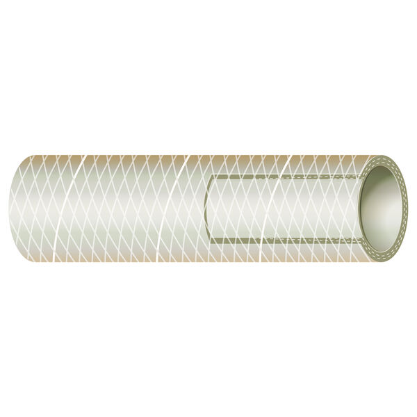 "Sierra 1/2"" Clear PVC Tubing, 100'L"