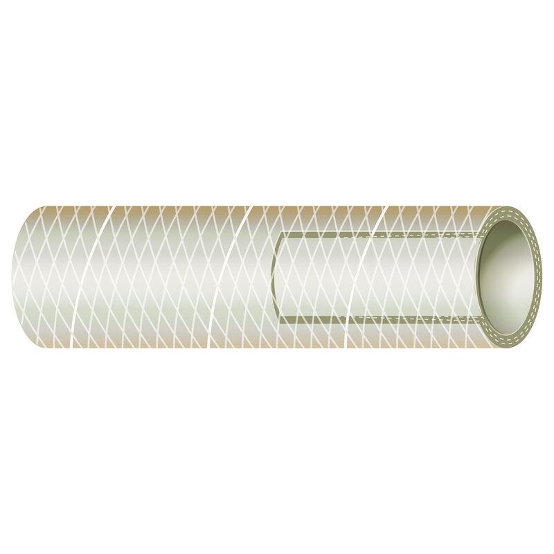 "Sierra 1"" Clear PVC Tubing, 50'L image number 1"