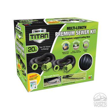 Thetford Titan Multi-length Premium Sewer Hose Kit
