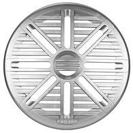 """6.5"""" Marine Silver Speaker Grille"""