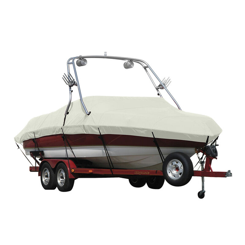 Exact Fit Sunbrella Boat Cover For Cobalt 200 Bowrider With Tower Covers Extended Platform image number 13