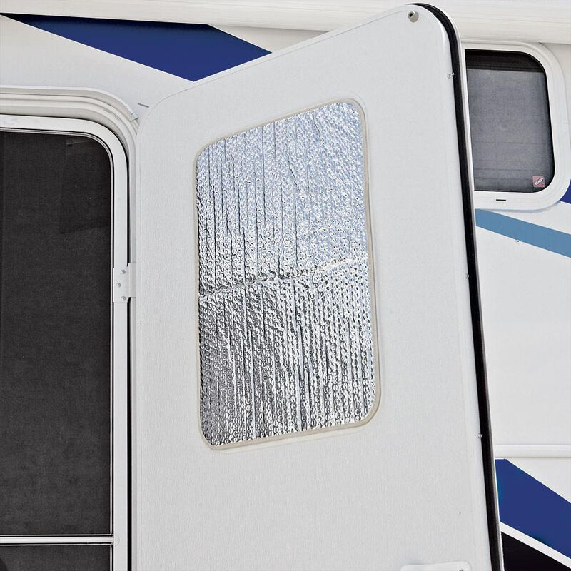 """Solar Entry Door Window Cover, 24"""" x 16"""" image number 1"""