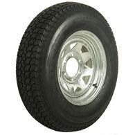 Kenda Loadstar 225/75 x 15 Bias Trailer Tire w/6-Lug Galvanized Spoke Rim