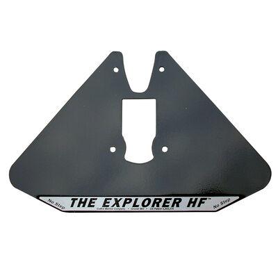 Cobra Explorer Hydrofoil Stabilizer Plate, Black Aluminum