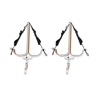 Manta Racks S2 White Double Paddleboard Rack For 30° Rod Holders