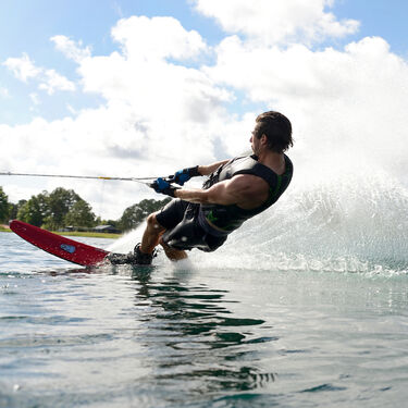 HO CX Slalom Waterski With X-Max Binding And Rear Toe Plate
