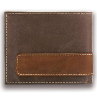 Carhartt Men's Two-Tone Billfold with Wing Wallet