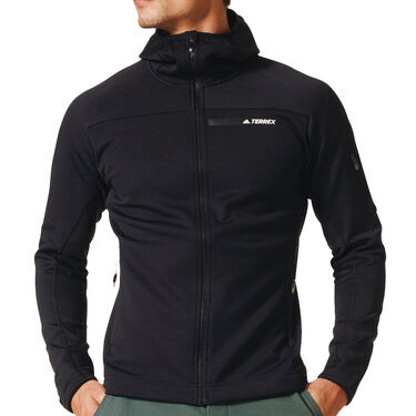 Adidas Men's Terrex Stockhorn Fleece Full-Zip Hoodie