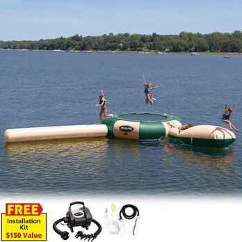 RAVE 20' Aqua Jump Eclipse 200 Water Park, Northwoods Edition