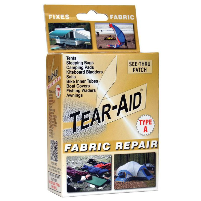 """Tear-Aid Fabric Repair Kit, Type A, 3"""" x 12"""" patch image number 1"""