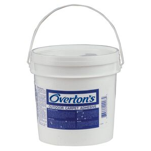 Overton's Indoor/Outdoor Do-It-Yourself Carpet Adhesive gallon