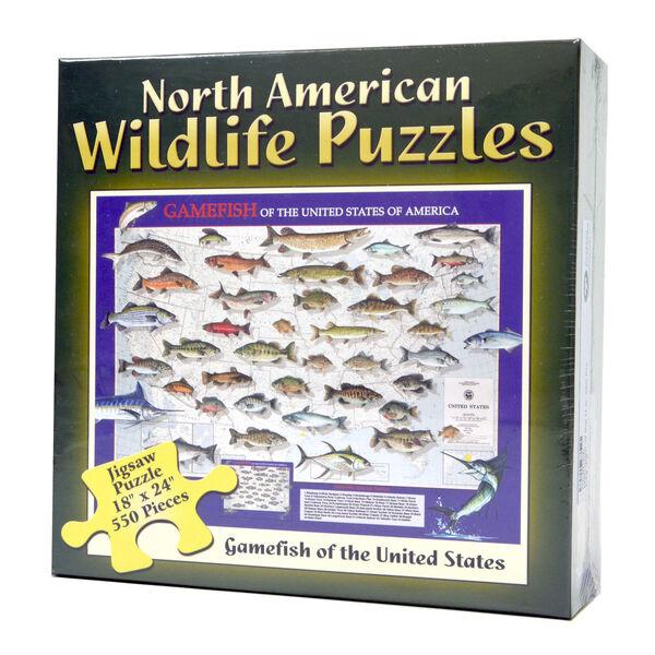 Gamefish Jigsaw Puzzle