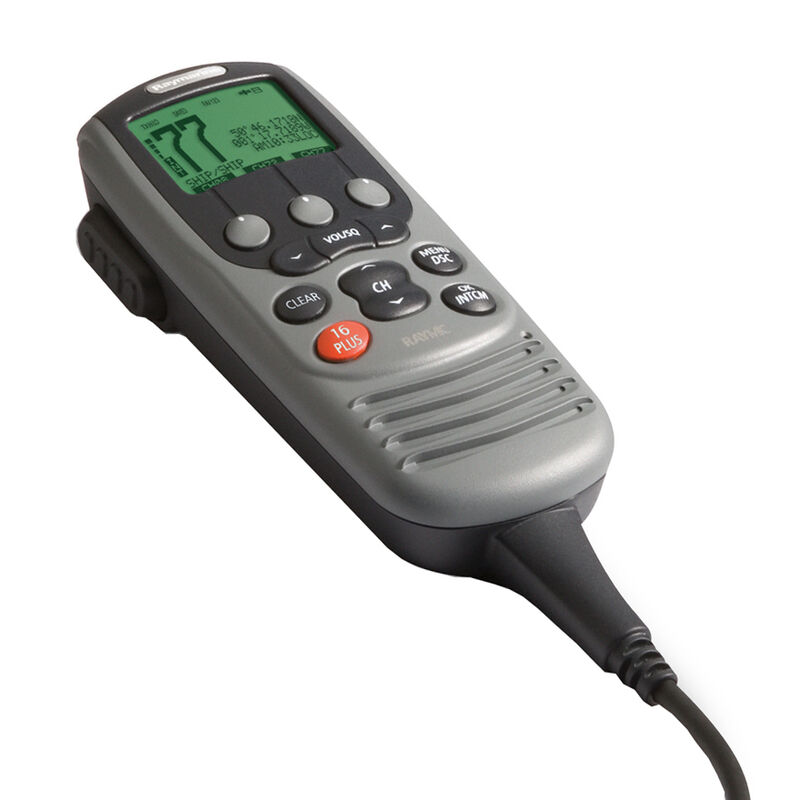 Raymarine Full-Function Second-Station Microphone for Ray55 & Ray218 VHF Radios image number 1