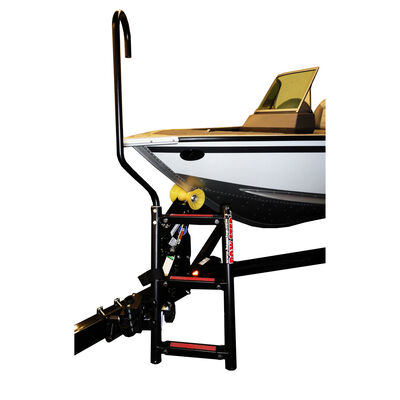 Quality Mark BowStep, 4-Step Ladder (Port) with Left Handle