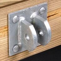 """Standard-Grade 3/16"""" Floating Dock Hardware - Female T Connector"""