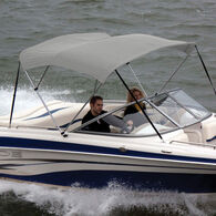 """Shademate Bimini Top Polyester Fabric and Boot Only, 3-Bow 6'L, 36""""H, 67""""-72""""W"""