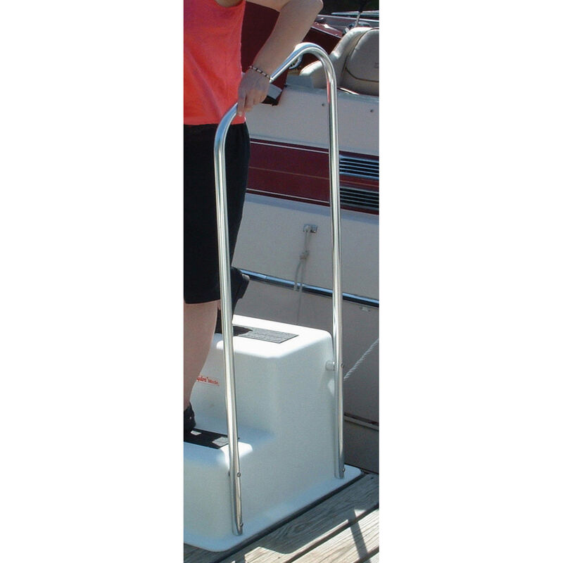"""Triple Step Dock Step Handrail Only, 26""""Wx58""""H image number 3"""