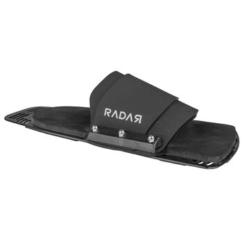 Radar Rubber Fitted Aluminum Rear Toe Plate