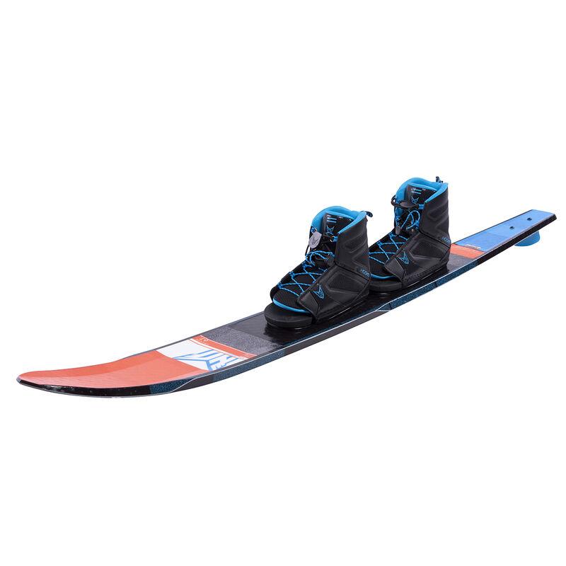 HO Freeride Slalom Waterski With Double Free-Max Bindings image number 2