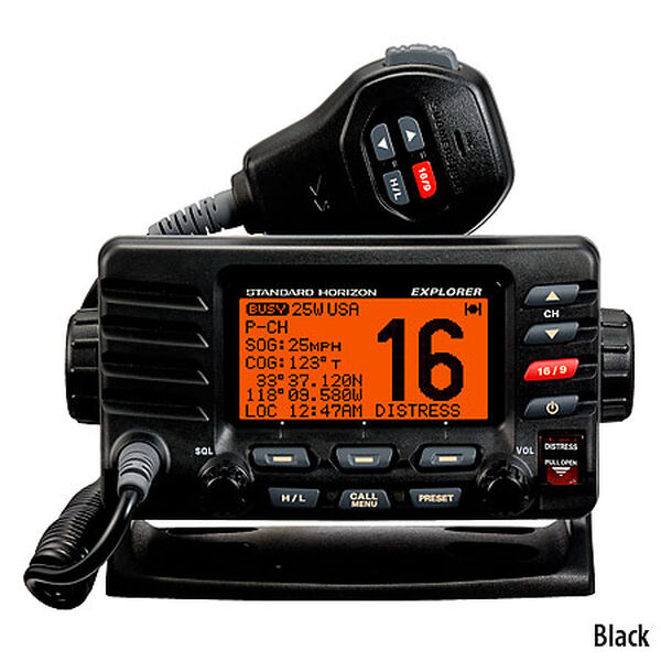 Standard Horizon Explorer GX1600 VHF Radio