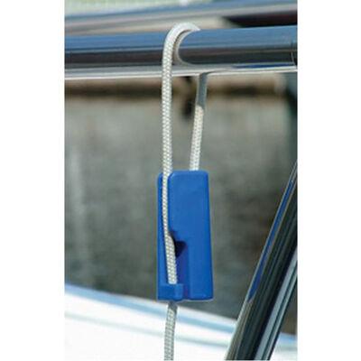 "Quick Knot Fender Hanger Blue for 1/4"" Line"