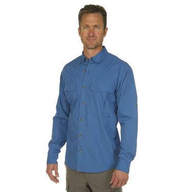 Nepallo Men's Trophy Fishing Cotton Long-Sleeve Shirt