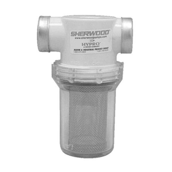 "Sherwood Sea Water Strainer, 1"" Port Size"