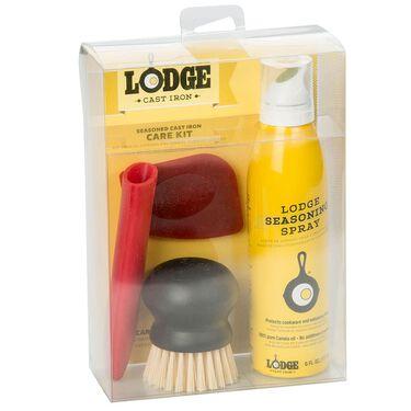 Lodge Seasoned Cast Iron Care Kit