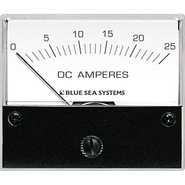 Blue Sea DC Analog Ammeter, 0-25A