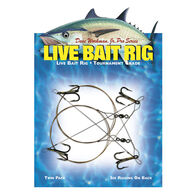 Boone Live Bait Rig, Single-Hook #1, #4 Treble Hook, 2-Pack