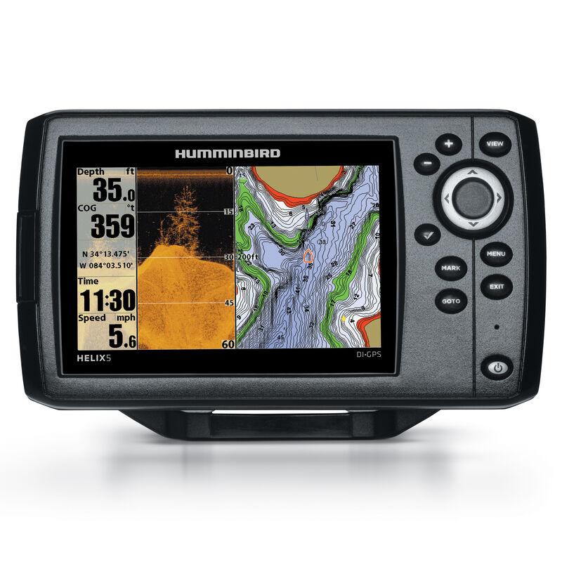 Humminbird Helix 5 DI Fishfinder GPS Combo image number 1