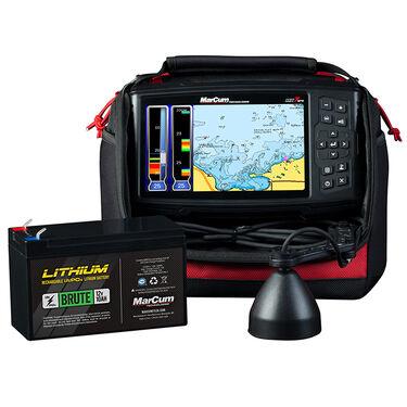 MarCum MX-7GPS GPS/Sonar System with Lithium Battery